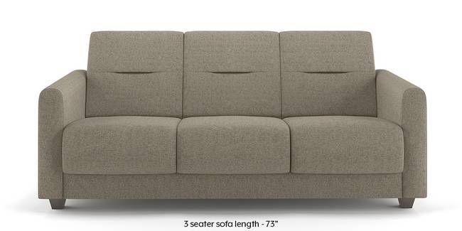 Lloyd Sofa (Mist Brown) (Mist, Fabric Sofa Material, Compact Sofa Size, Regular Sofa Type)