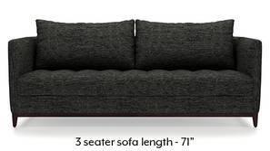 Florence Compact Sofa (Cosmic Grey)