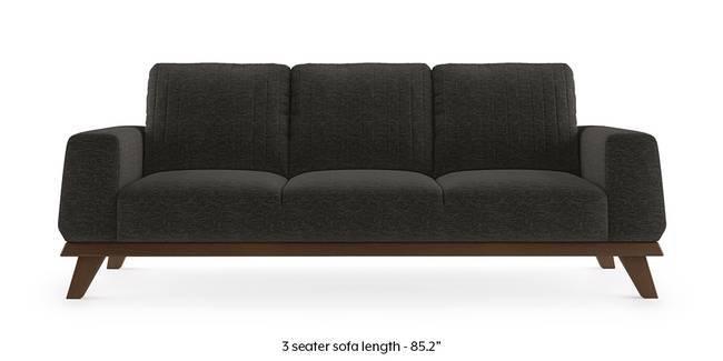 Granada Sofa (Cosmic Grey) (1-seater Custom Set - Sofas, None Standard Set - Sofas, Cosmic, Fabric Sofa Material, Regular Sofa Size, Regular Sofa Type)