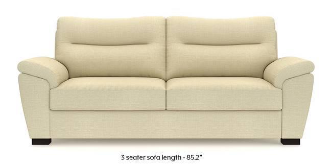 Adelaide Sofa (Ivory White) (Ivory, Fabric Sofa Material, Regular Sofa Size, Regular Sofa Type)