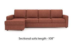 Apollo Sectional Sofa (Lava Rust)