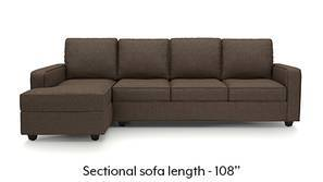 Apollo Sectional Sofa (Mocha Brown)