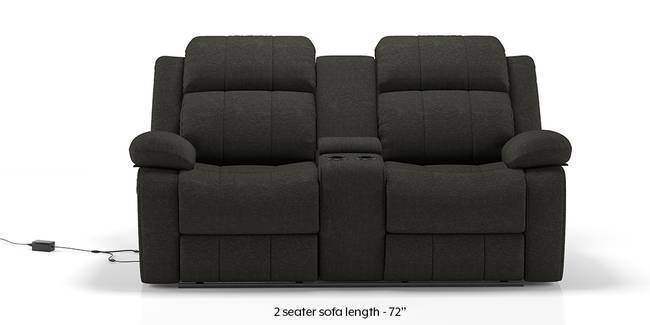 Robert Motorized Home Theatre Rocker Recliner Sofa Set (Grey Fabric) (1-seater Custom Set - Sofas, None Standard Set - Sofas, Grey Fabric, Fabric Sofa Material, Regular Sofa Size, Regular Sofa Type)