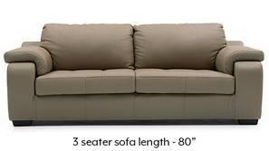 Trissino Sofa (Cappuccino Italian Leather)