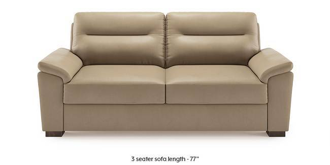 Adelaide Leatherette Sofa (Cappuccino) (2-seater Custom Set - Sofas, None Standard Set - Sofas, Cappuccino, Leatherette Sofa Material, Compact Sofa Size, Soft Cushion Type, Regular Sofa Type)