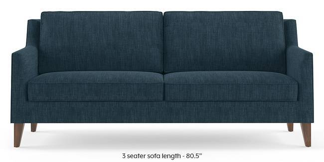 Greenwich Sofa (Indigo Blue) (1-seater Custom Set - Sofas, None Standard Set - Sofas, Indigo Blue, Fabric Sofa Material, Regular Sofa Size, Regular Sofa Type)