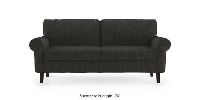 Oxford Sofa (Graphite Grey) (1-seater Custom Set - Sofas, None Standard Set - Sofas, Fabric Sofa Material, Regular Sofa Size, Regular Sofa Type, Graphite Grey)