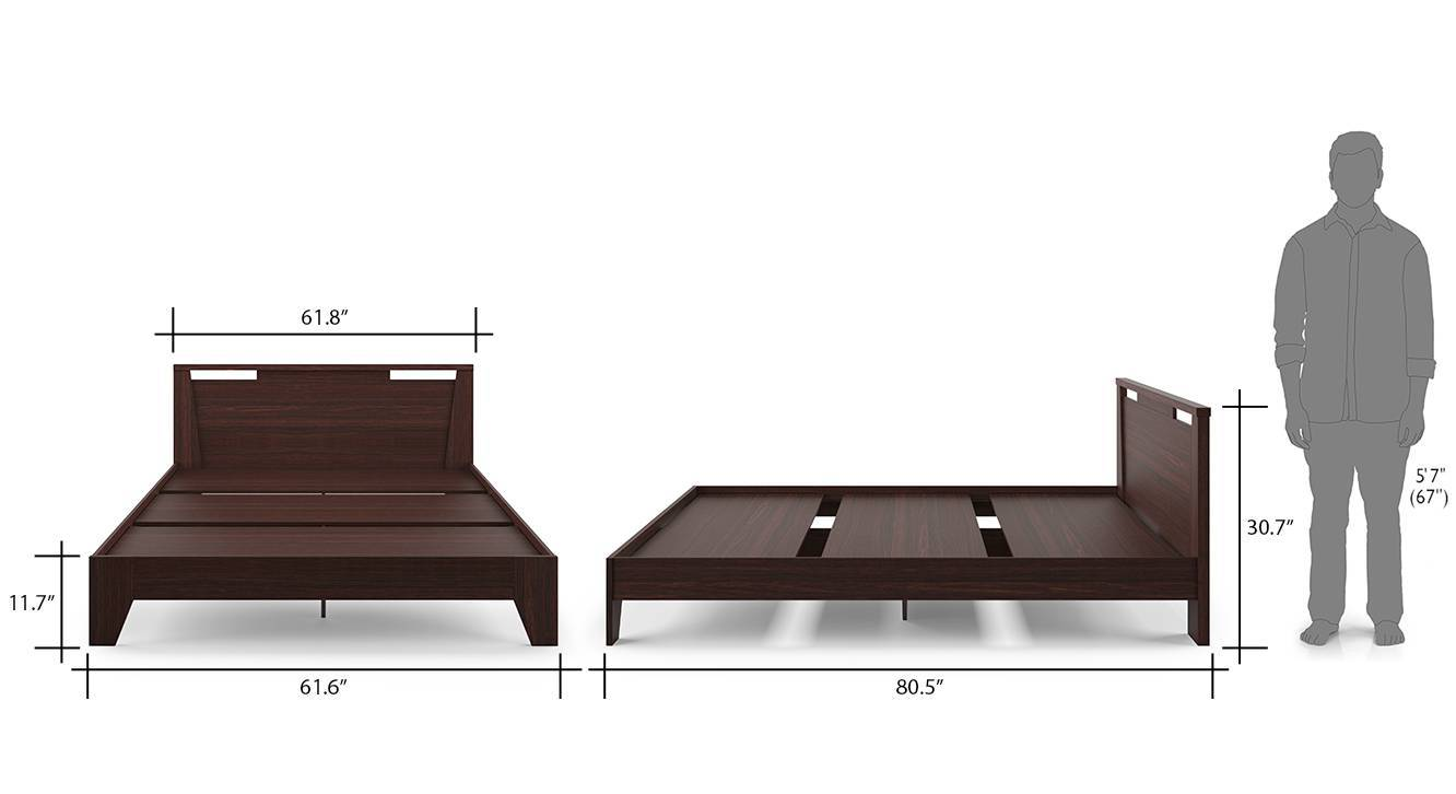 Pavis bed walnut 7
