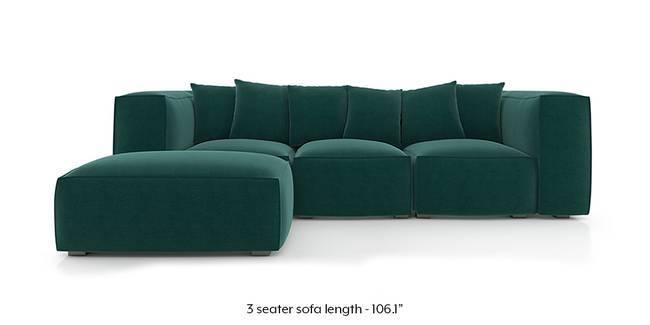 Chapman Modular Sofa (Malibu Blue) (Fabric Sofa Material, Regular Sofa Size, Malibu, Modular Sofa Type)