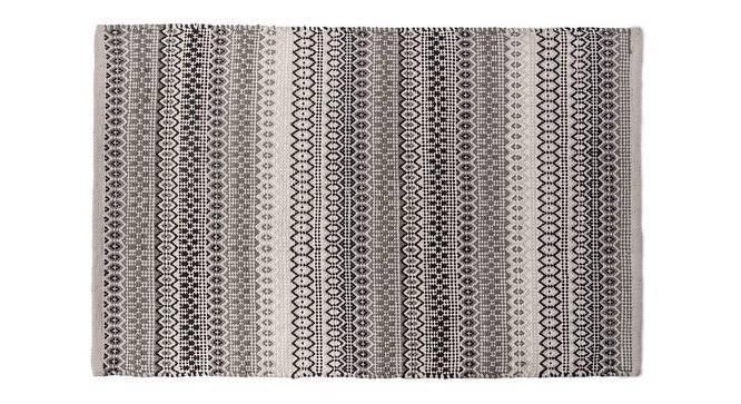 """Trebon Dhurrie (24"""" x 36"""" Carpet Size, Monochrome) by Urban Ladder"""