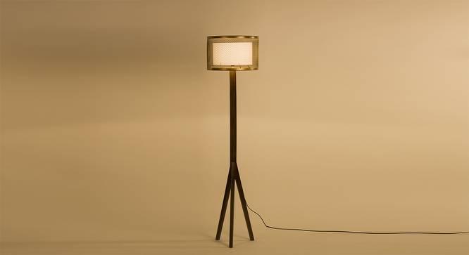 Orlando Floor Lamp (Dark Walnut Base Finish) by Urban Ladder