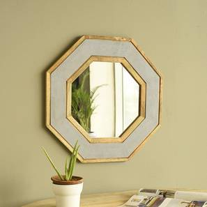 Moraine Wall Mirror (Natural Finish) by Urban Ladder