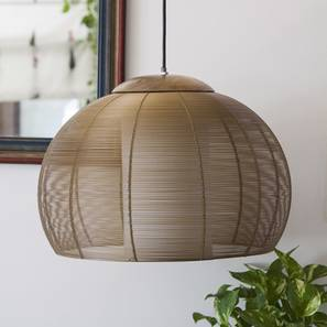 Alice Hanging Lamp (Natural Finish) by Urban Ladder