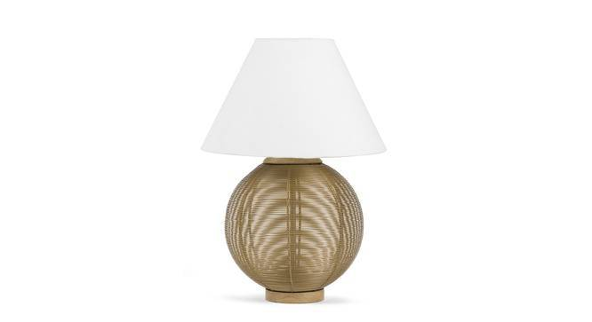 Macon Table Lamp (Natural Base Finish) by Urban Ladder