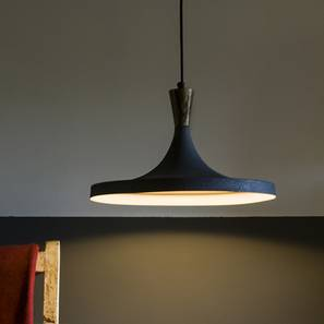 Yuma Hanging Lamp (Light Walnut Finish) by Urban Ladder