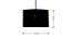 Tulsa Hanging Lamp (Black Finish) by Urban Ladder