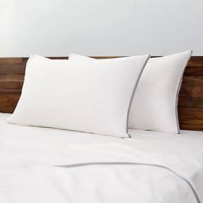 Serena 300 TC Bedsheet Set (Double Size, Ivory White) by Urban Ladder
