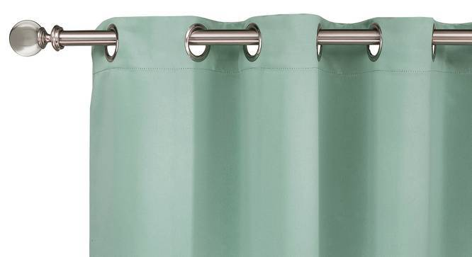 "Umbra Blackout Curtain - Set Of 2 (Aqua, 54""x84"" Curtain Size) by Urban Ladder"