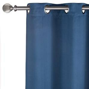 "Umbra Blackout Curtain - Set Of 2 (Navy, 54"" x 108"" Curtain Size) by Urban Ladder"