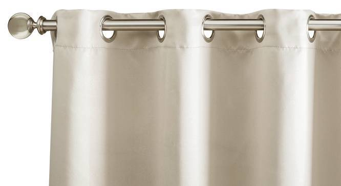 "Umbra Blackout Curtain - Set Of 2 (54"" x 108"" Curtain Size, Taupe Grey) by Urban Ladder"