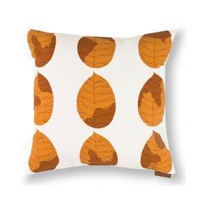 "Amoga Cushion Cover - Set Of 2 (16"" X 16"" Cushion Size, Ochre Sunburst Pattern) by Urban Ladder"