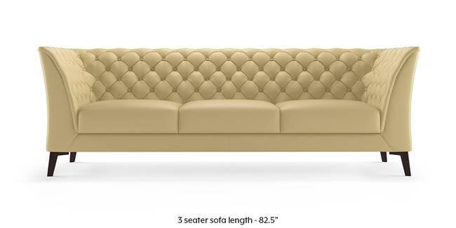 Weston Half Leather Sofa(Cream) (Cream, Cream, 1-seater Custom Set - Sofas, 2-seater Custom Set - Sofas, None Standard Set - Sofas, None Standard Set - Sofas, Regular Sofa Size, Regular Sofa Size, Regular Sofa Type, Regular Sofa Type, Leather Sofa Material, Leather Sofa Material)