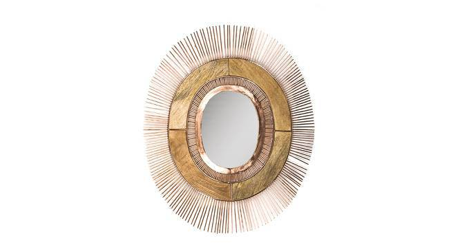 Menorca Wall Mirror (Copper Finish) by Urban Ladder