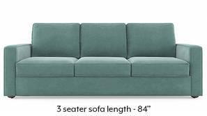 Apollo Compact Sofa (Dusty Turquoise Velvet)