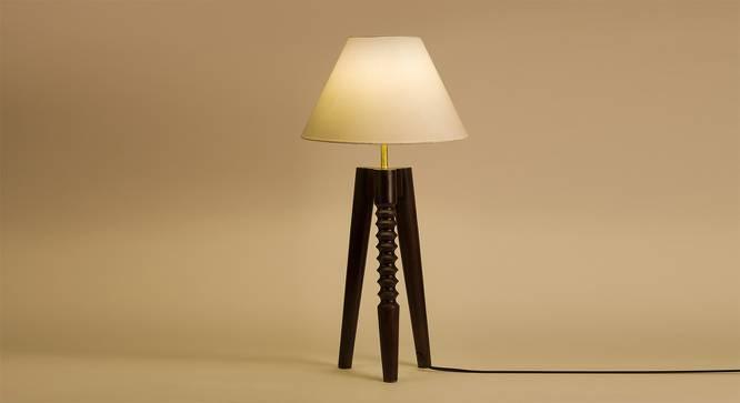 Asmara Table Lamp (White Shade Finish) by Urban Ladder