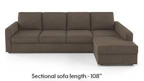 Apollo Sectional Sofa (Pine Brown)