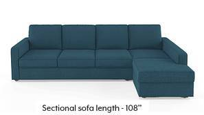 Apollo Sectional Sofa (Colonial Blue)