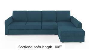 Apollo Sectional Sofa (Colonial Blue)