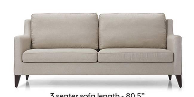Greenwich Sofa (Pearl, Fabric Sofa Material, Regular Sofa Size, Soft Cushion Type, Regular Sofa Type, Master Sofa Component)