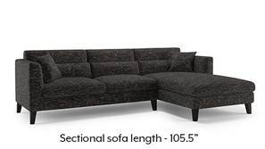 Lewis Sectional Sofa (Cosmic)