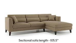 Lewis Sectional Sofa (Dune)