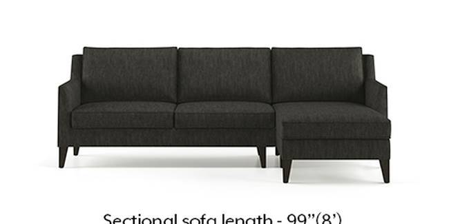 Greenwich Sofa (Fabric Sofa Material, Regular Sofa Size, Soft Cushion Type, Sectional Sofa Type, Sectional Master Sofa Component, Graphite Grey)