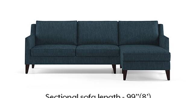 Greenwich Sofa (Indigo Blue, Fabric Sofa Material, Regular Sofa Size, Soft Cushion Type, Sectional Sofa Type, Sectional Master Sofa Component)