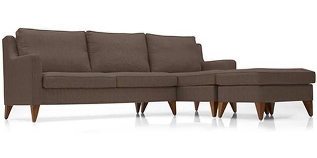 Greenwich Sofa (Mocha, Fabric Sofa Material, Regular Sofa Size, Soft Cushion Type, Sectional Sofa Type, Sectional Master Sofa Component)