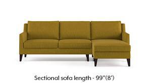 Greenwich Sectional Sofa (Olive Green)