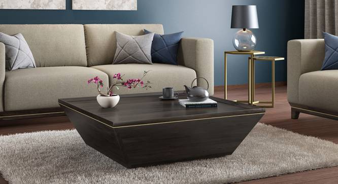 Taarkashi Coffee Table (American Walnut Finish) by Urban Ladder