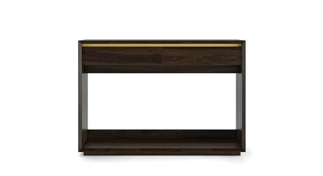 Taarkashi Console Table (American Walnut Finish) by Urban Ladder