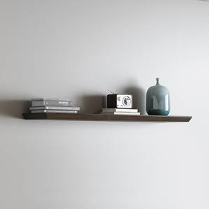 Taarkashi Wall Shelf (American Walnut Finish) by Urban Ladder