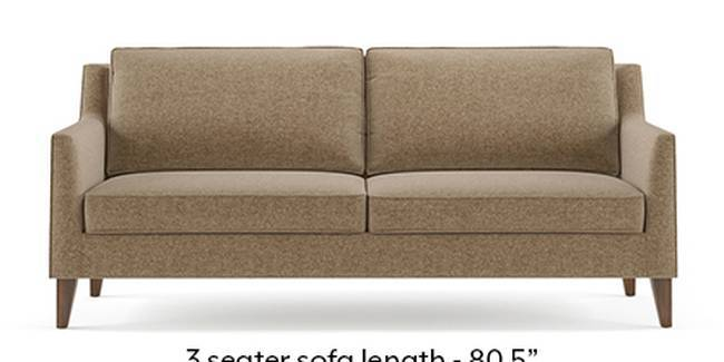 Greenwich Sofa (Fabric Sofa Material, Regular Sofa Size, Soft Cushion Type, Regular Sofa Type, Master Sofa Component, Safari Brown)