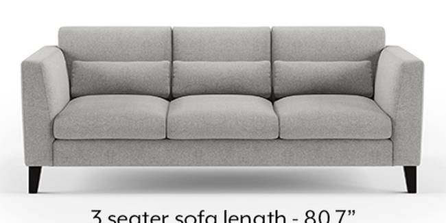 Lewis Sofa (Fabric Sofa Material, Regular Sofa Size, Soft Cushion Type, Regular Sofa Type, Master Sofa Component, Vapour Grey)