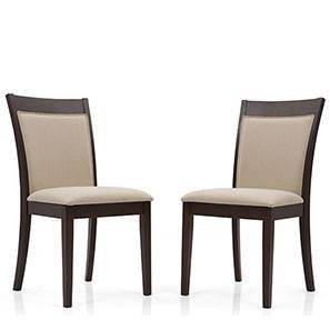 Dalla Dining Chairs - Set of 2 (Latte) by Urban Ladder