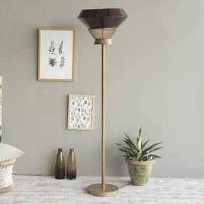 Maitland Floor Lamp (Natural Base Finish) by Urban Ladder