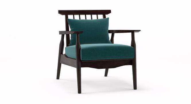 Ikeda Armchair (Mahogany Finish, Malibu) by Urban Ladder