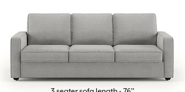 Apollo Sofa Set (Fabric Sofa Material, Compact Sofa Size, Soft Cushion Type, Regular Sofa Type, Master Sofa Component, Vapour Grey)
