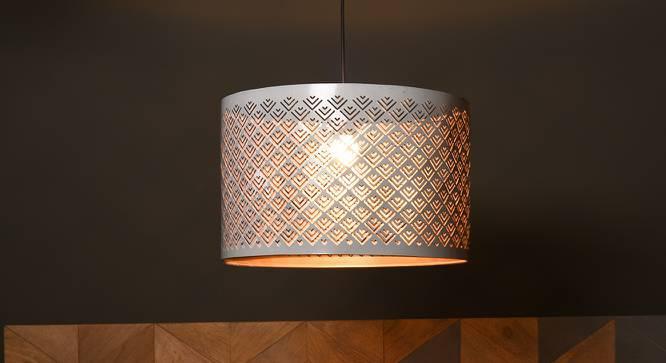 Milford Hanging Lamp (White Finish) by Urban Ladder