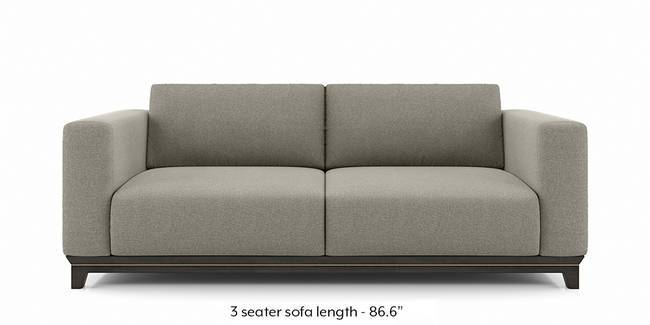 Taarkashi Sofa (Gainsboro Beige) (1-seater Custom Set - Sofas, None Standard Set - Sofas, Fabric Sofa Material, Regular Sofa Size, Regular Sofa Type, Gainsboro Beige)
